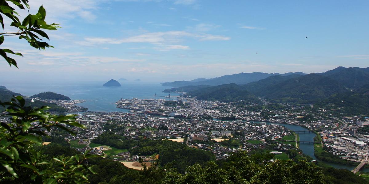 臼杵市の風景